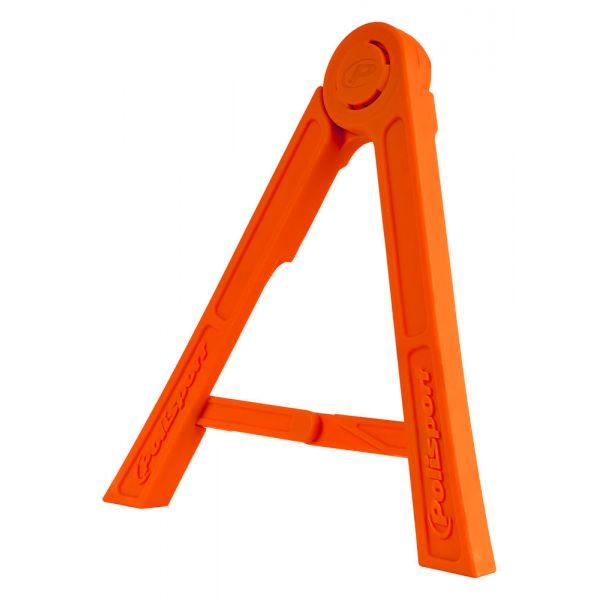 Cricuri moto Polisport Cric Lateral Tripod Pliabil Orange