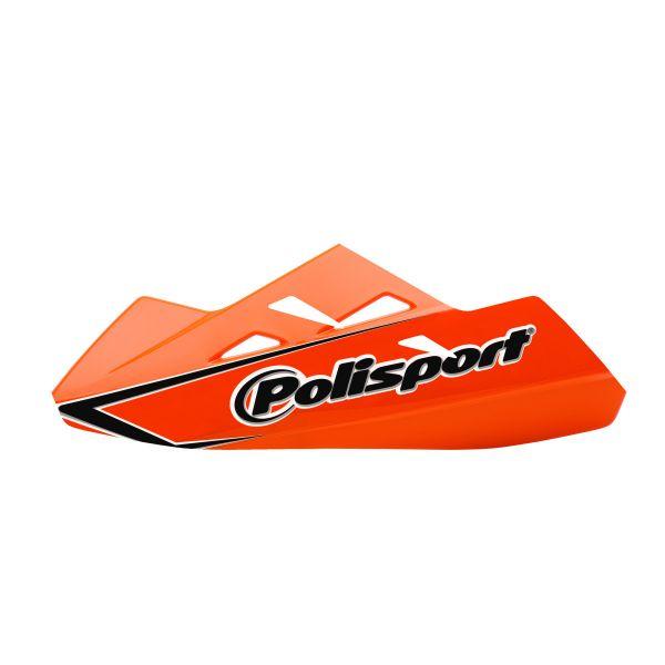 Handguard Polisport Handguard Qwest Montaj Aluminiu Orange