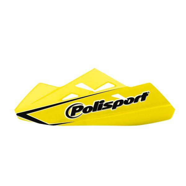 Handguard Polisport Handguard Qwest Montaj Aluminiu Yellow