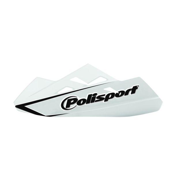 Handguard Polisport Handguard Qwest Montaj Plastic White