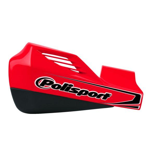 Handguard Polisport Handgurad MX Rocks Montaj Plastic IPD Red/Black