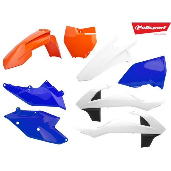 Plastice MX-Enduro Polisport Kit Plastic Six Days 2018 KTM EXC 17-20