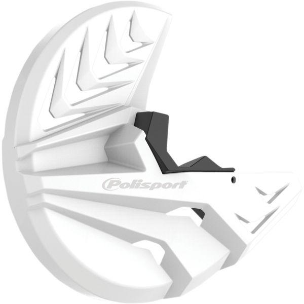Protectii Disc Frana Polisport Protectie Disc Frana+Furca  KTM EXC/EXC-F/XC-F/XC-W 08-15 White