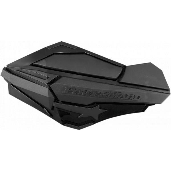Handguard ATV PowerMadd-Cobra Handguard ATV Black/black-34410 Aluminiu /Plastic
