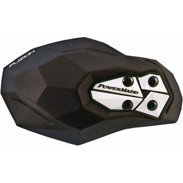Handguard ATV PowerMadd-Cobra Handguard ATV Fuzion Textile/Foam Custom Replacement Black-34500
