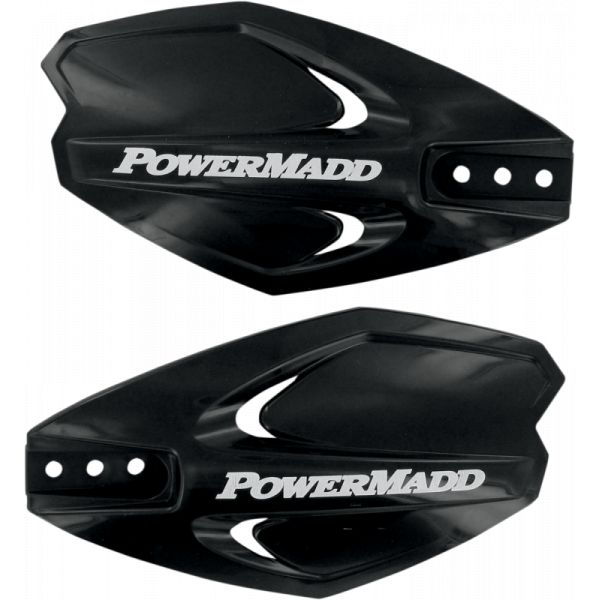 Handguard ATV PowerMadd-Cobra Handguard ATV Powerx 22 MM Plastic Black-34280
