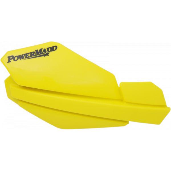 Handguard ATV PowerMadd-Cobra Handguard ATV Trail Star 22 MM Plastic Yellow-34105