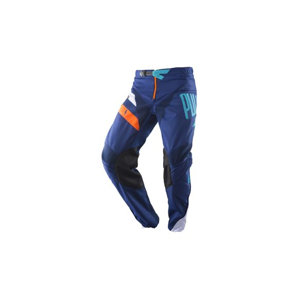 Pantaloni MX-Enduro Pull In Pantaloni Challenger Navy/Orange 2019