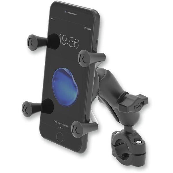 Suport Ghidon Telefon/GPS Ram Mounts Ram Torque  Baza Montaj pentru Telefoane Plastic Negru - Ramb408751-un7u