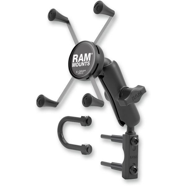 Suport Ghidon Telefon/GPS Ram Mounts Ram X-grip  Montaj pentru Rezervor Ambreiaj/Frana  - Ram-b-174-un10