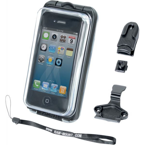Suport Ghidon Telefon/GPS Ram Mounts Suport Dispozitiv Aqua Box Pro 10 Iphone 3/4 - Ram-hol-aq7-1c