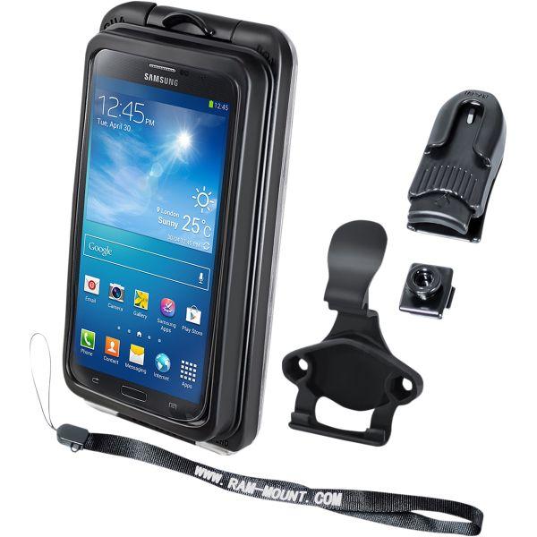 Suport Ghidon Telefon/GPS Ram Mounts Suport Dispozitiv Aqua Box Pro 20 Iphone 3/4/5 Case And Clip Transparent Composite Black - Ram-holaq7-2cou