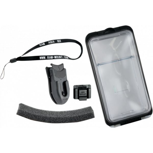Suport Ghidon Telefon/GPS Ram Mounts Suport Dispozitiv Aqua Box Pro 20 Iphone 3/4/5 - Ram-hol-aq7-2c