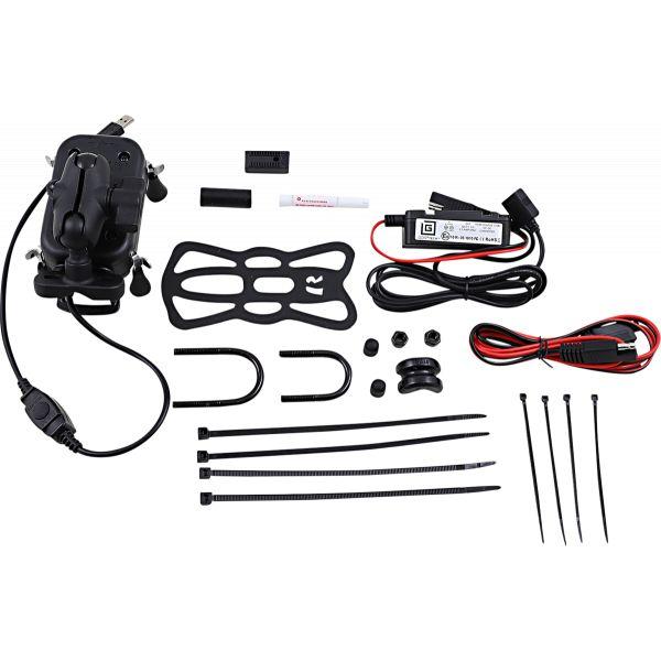 Suport Ghidon Telefon/GPS Ram Mounts Tough-charge Suport Ghidon cu Incarcare Wireless Waterproof  - Ramb149zauni12w