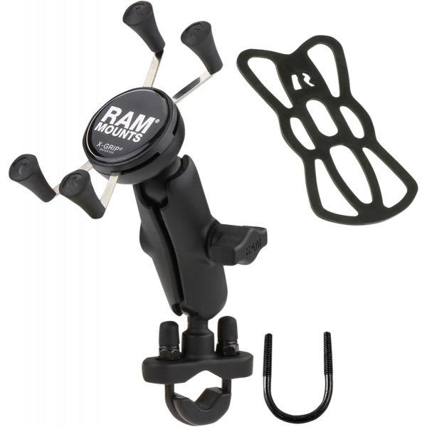 Suport Ghidon Telefon/GPS Ram Mounts X-grip Suport MobilPrindere Ghidon Mount Aluminum Steel Black - Ram-b-149z-un7