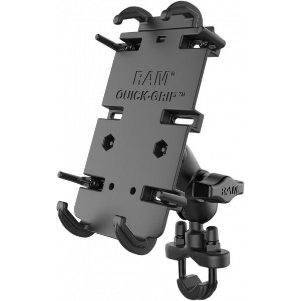 Suport Ghidon Telefon/GPS Ram Mounts Xl Quick Grip Suport Telefon cu baza U-bolt - Ram-b-149za-pd4