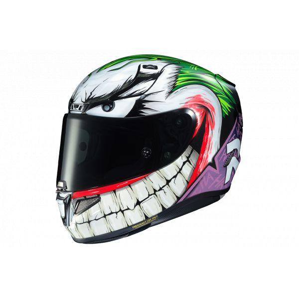Casti Moto Integrale HJC Casca Moto Full Face RPHA 11 Joker DC Comics