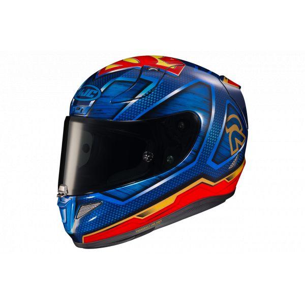 Casti Moto Integrale HJC Casca Moto Full Face RPHA Superman DC Albastru