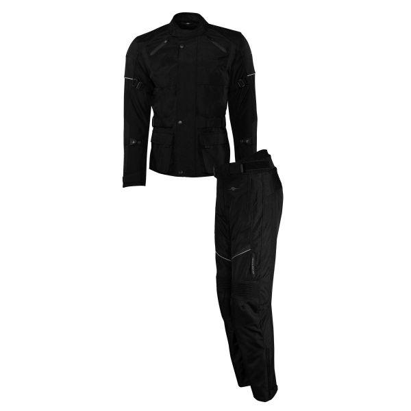 Combo Geaca/Pantalon ATV Rusty Stitches Combo Geaca + Pantaloni Textili Moto Tommy Black 2021