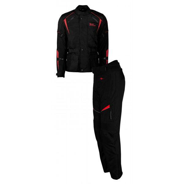 Combo Geaca/Pantalon ATV Rusty Stitches Combo Geaca + Pantaloni Textili Moto Tommy Black-Red 2021