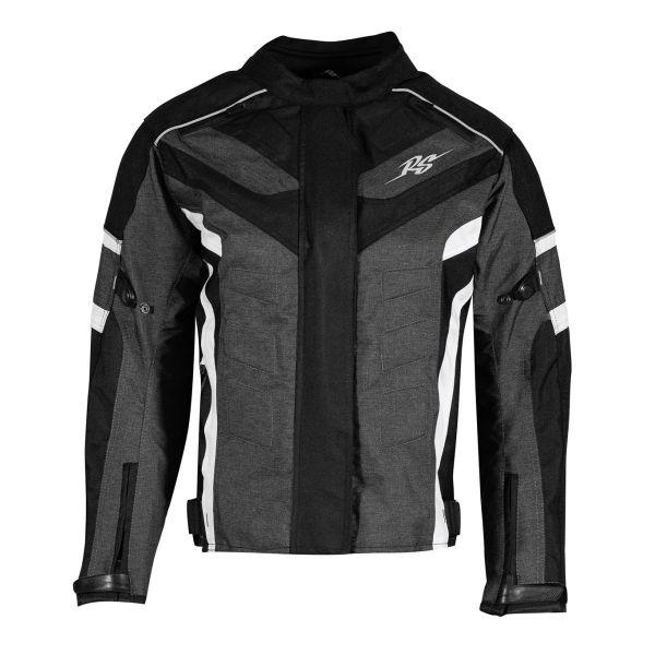 Geci Moto Textil Rusty Stitches Geaca Moto Textila Juliette Black/White 2021