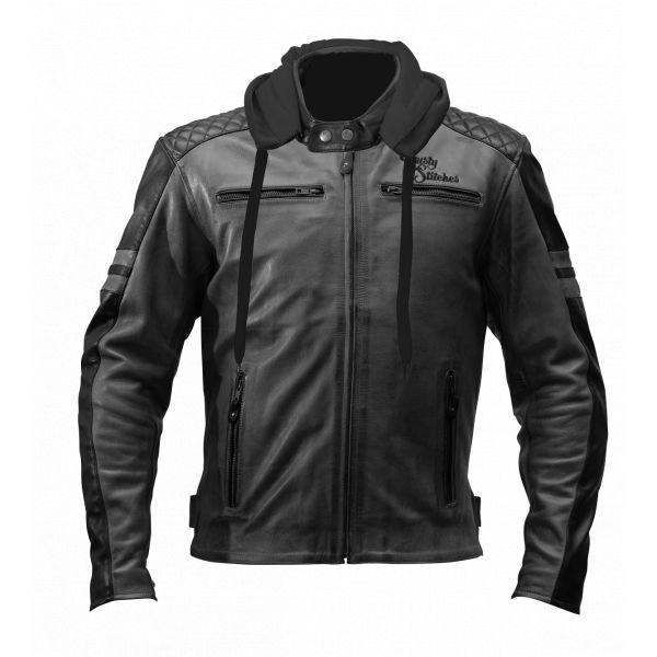 Rusty Stitches Geaca Textila Jari Hooded Black/Gray 2020
