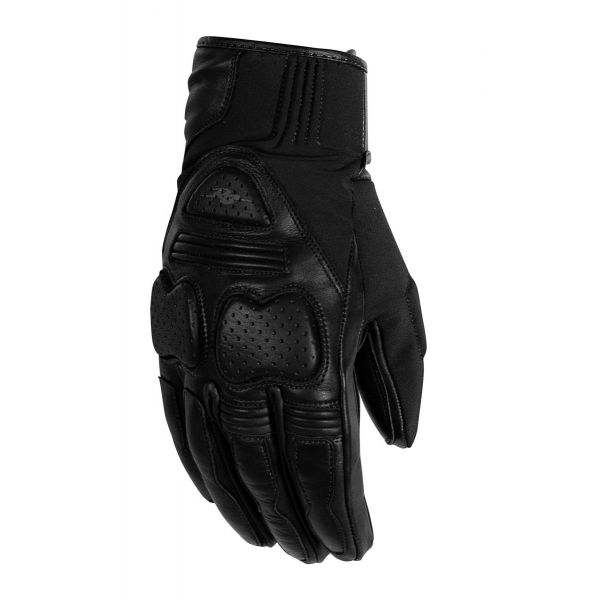 Manusi Moto Sport si Piele Rusty Stitches Manusi Moto Piele Chris Black 2021