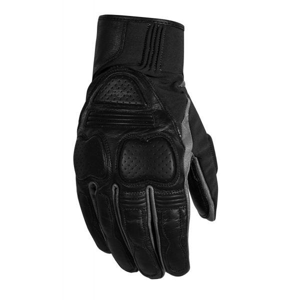 Manusi Moto Sport si Piele Rusty Stitches Manusi Moto Piele Chris Black/Grey 2021