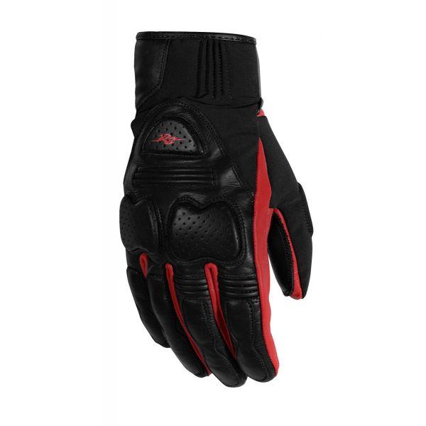 Manusi Moto Sport si Piele Rusty Stitches Manusi Moto Piele Chris Black/Red 2021