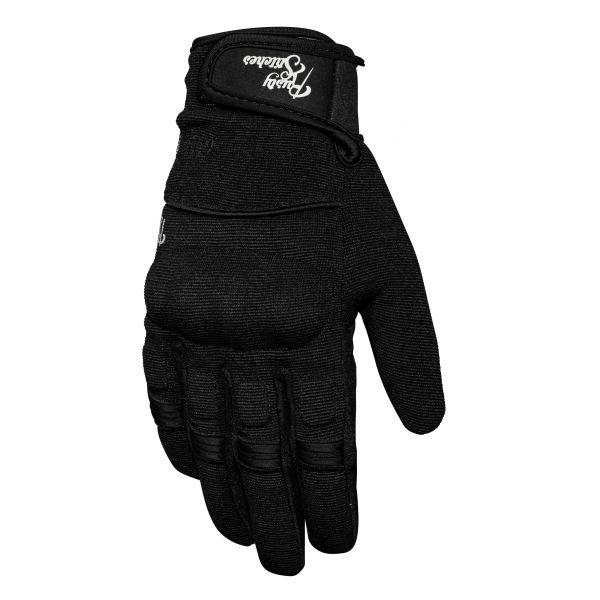 Manusi Sport si Piele Rusty Stitches Manusi Textile Clyde Black 2020