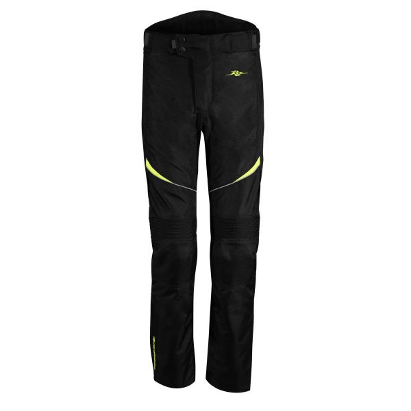 Pantaloni ATV Rusty Stitches Pantaloni ATV Tommy Black-Yellow Fluo  2021