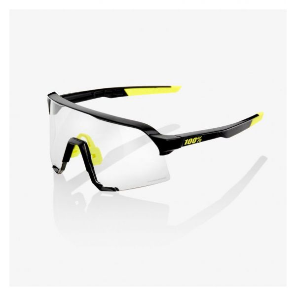 Ochelari de Soare 100 la suta Ochelari Soare S3 Gloss Black Photochromic Lens 2021