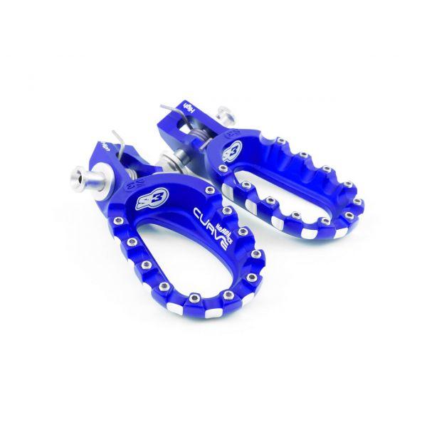Scarite MX-Enduro S3 Scarite Curve Inalte (Pozitie OEM) Blue KTM/Husqvarna