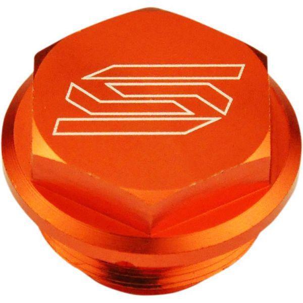Accesorii MX-Enduro Scar Capac Rezervor Lichid Frana Spate KTM EXC 2004-2020 Orange