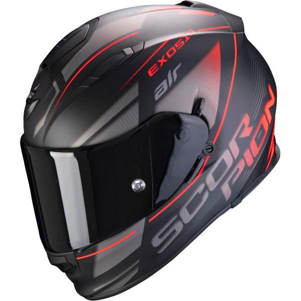 Casti Moto Integrale Scorpion Exo Casca EXO 510 AIR FERRUM - Negru Mat/Gri/Rosu 2020