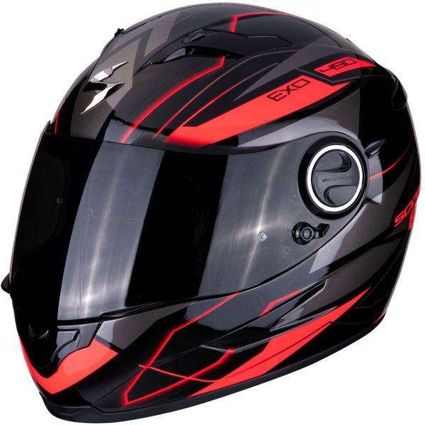 Casti Moto Integrale Scorpion Exo Casca Integrala EXO 490 NOVA - Negru / Rosu 2020