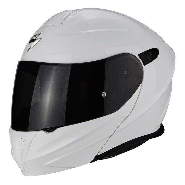 Casti Moto Flip-up (Modulabile) Scorpion Exo Casca Moto Flip-Up 920 SOLID Alb 2020