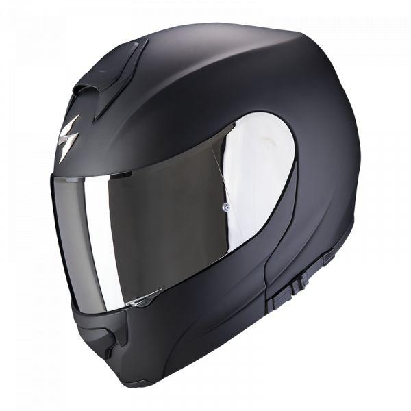 Casti Moto Flip-up (Modulabile) Scorpion Exo Casca Moto Flip-Up Exo-3000 Air Solid Matt Black