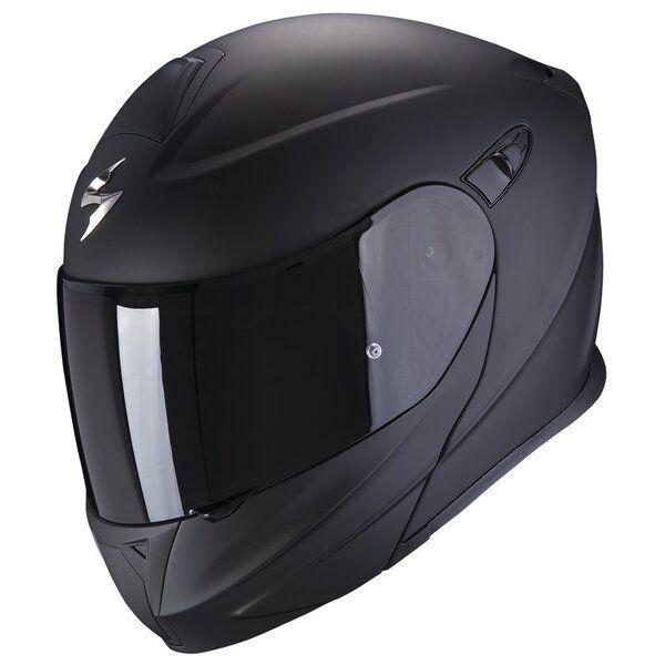 Casti Moto Flip-up (Modulabile) Scorpion Exo Casca Moto Flip-Up Exo-920 Evo Solid Matt Black