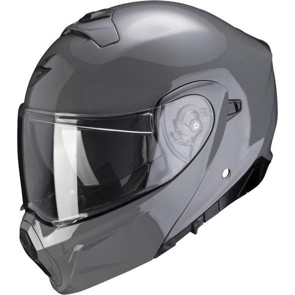 Casti Moto Flip-up (Modulabile) Scorpion Exo Casca Moto Flip-Up Exo-930 Solid Cement Grey 2021