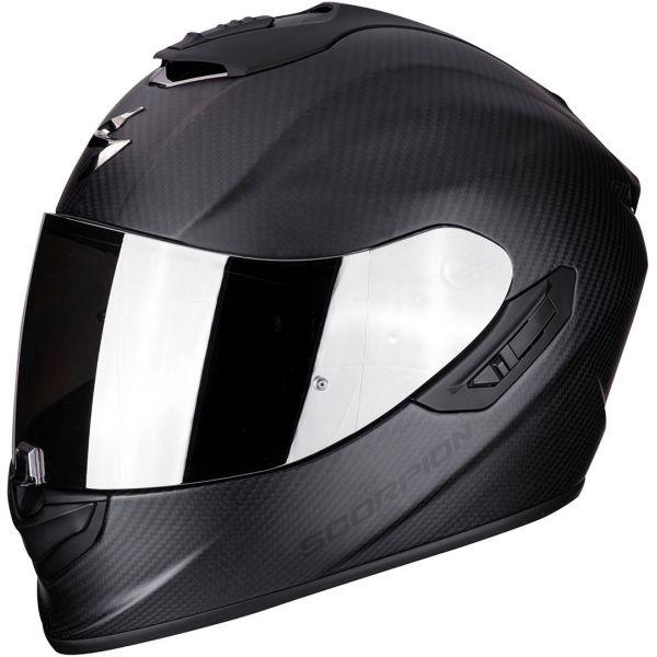 Casti Moto Integrale Scorpion Exo Casca Moto Full-Face Exo 1400 Air Carbon Solid Matt Black