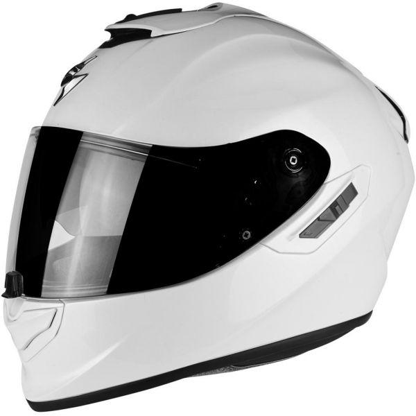 Casti Moto Integrale Scorpion Exo Casca Moto Full-Face Exo 1400 Air Solid Pearl White