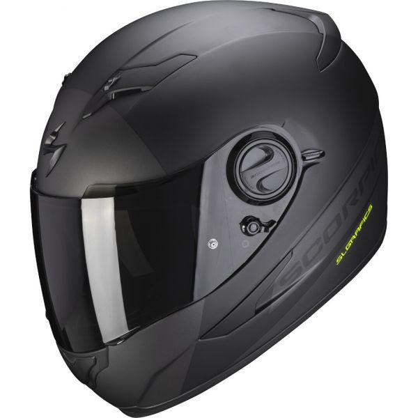 Casti Moto Integrale Scorpion Exo Casca Moto Full-Face Exo 490 Pace II Black Matt/Silver 2021