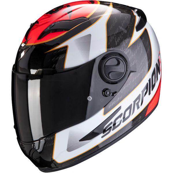 Casti Moto Integrale Scorpion Exo Casca Moto Full-Face Exo 490 Tour White/Red