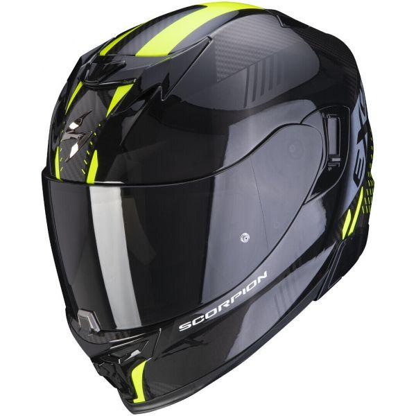 Casti Moto Integrale Scorpion Exo Casca Moto Full-Face Exo 520 Air Laten Black/Neon Yellow 2021