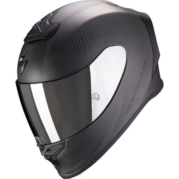 Casti Moto Integrale Scorpion Exo Casca Moto Full-Face Exo R1 Carbon Air Solid Matt Black