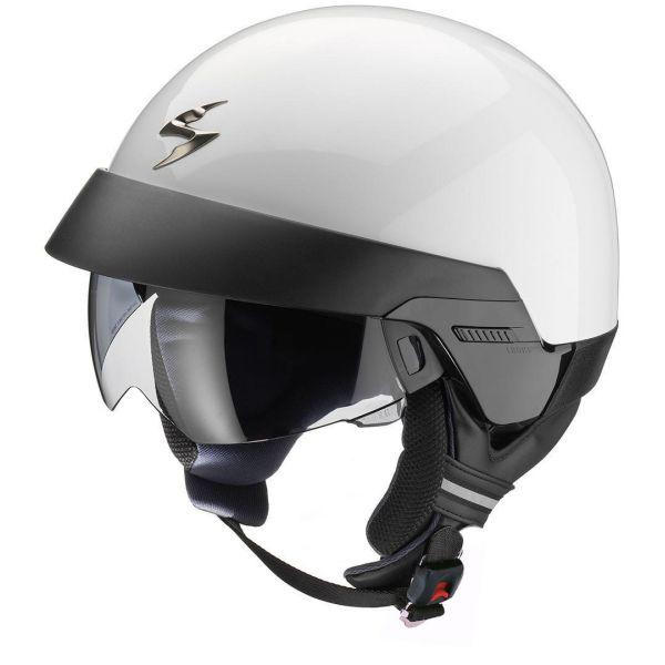 Casti Moto Jet (Open Face) Scorpion Exo Casca Moto Open Face/Jet Exo 100 Solid Matt Black