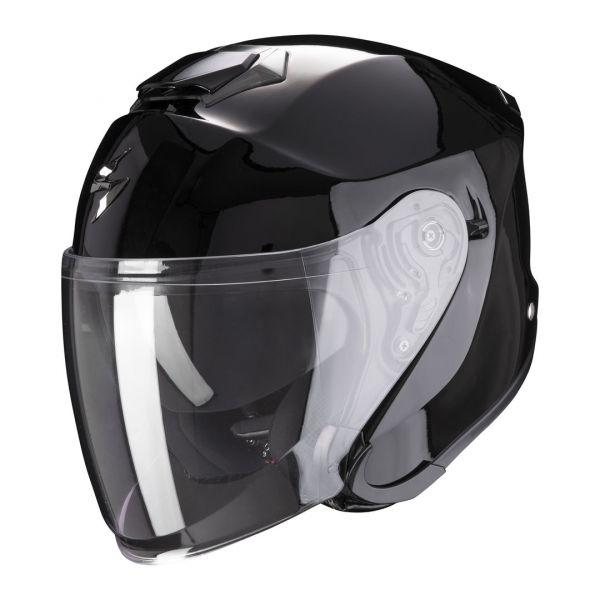 Casti Moto Jet (Open Face) Scorpion Exo Casca Moto Open Face/Jet EXO-S1 Solid Black