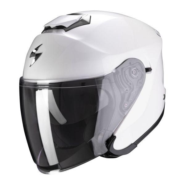 Casti Moto Jet (Open Face) Scorpion Exo Casca Moto Open Face/Jet EXO-S1 SOLID Pearl White