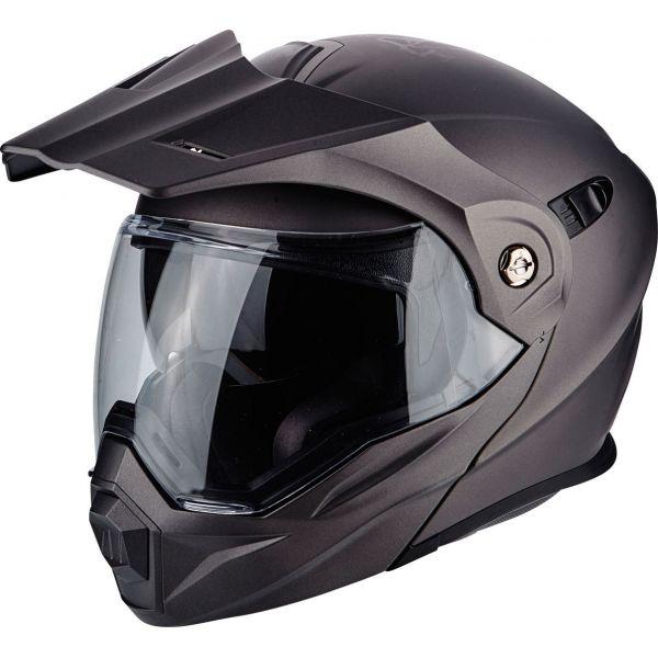 Casti Moto Adventure-Touring Scorpion Exo Casca Moto Touring/Adventure ADX-1 Solid Matt Anthracite